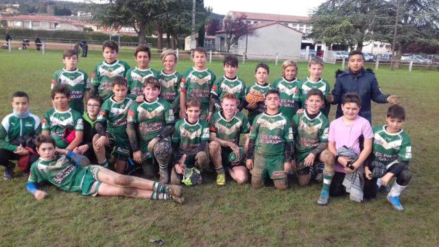 L'école de rugby du FCL s'est déplacée à Limoux