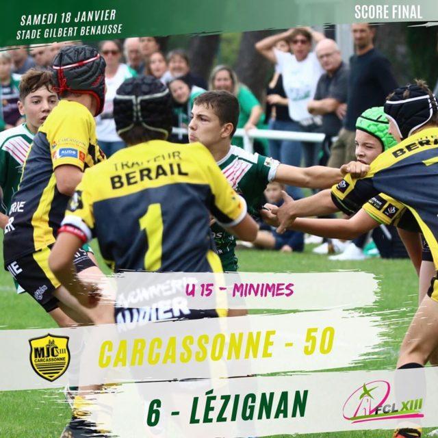 Les U15 du FCL chutent et les U17 déroulent à Carcassonne