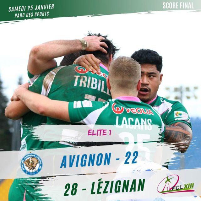 Le FCL s'impose en Avignon 28 à 22 (photos)